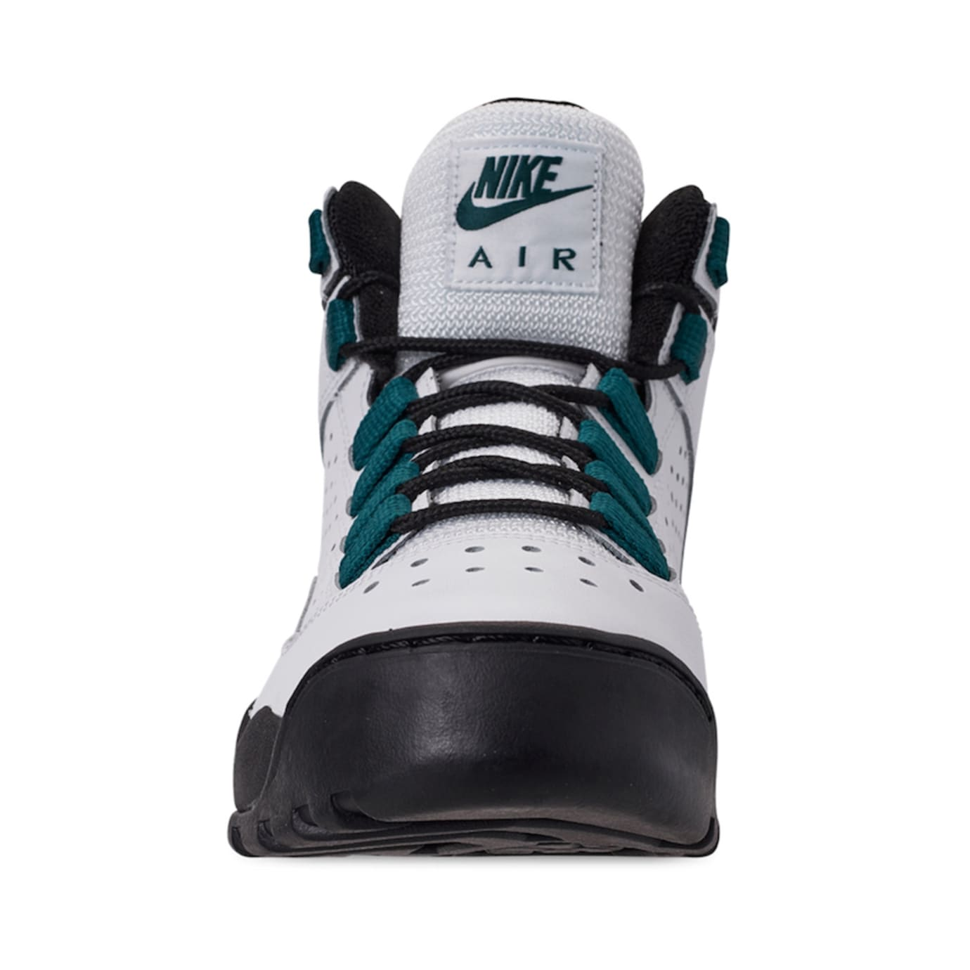 best sneakers 9b6fd 060f5 Image via Finish Line Nike Air Darwin  White Teal Black  AJ9710-100 (Front)