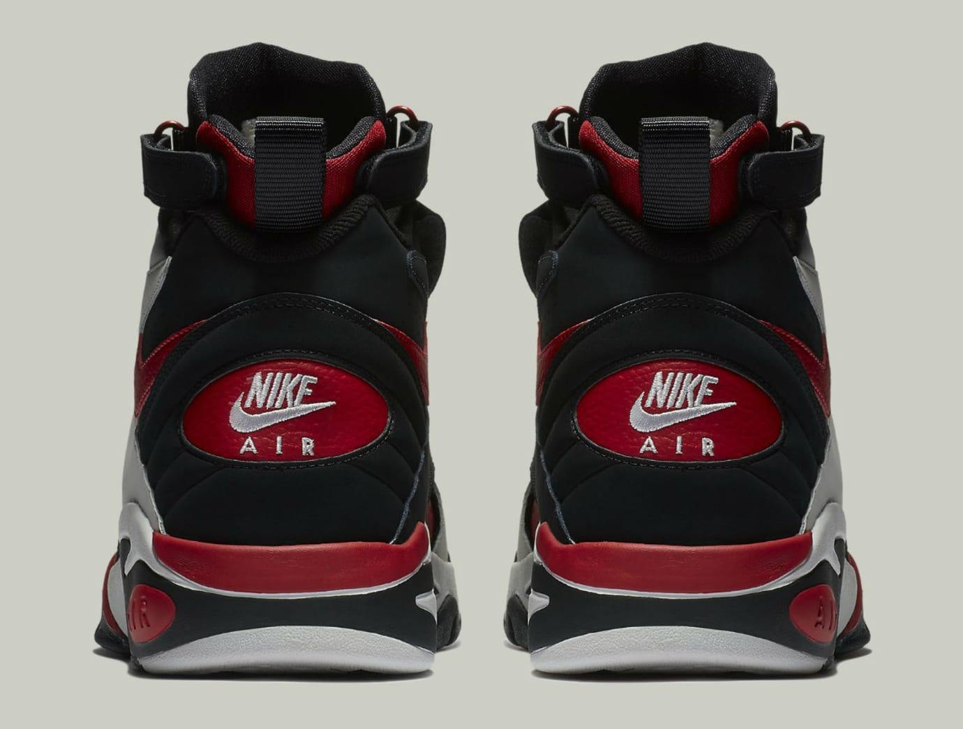 Nike Air Maestro 2 II LTD Black Vast Grey Gym Red Release Date AH8511-002 Heel