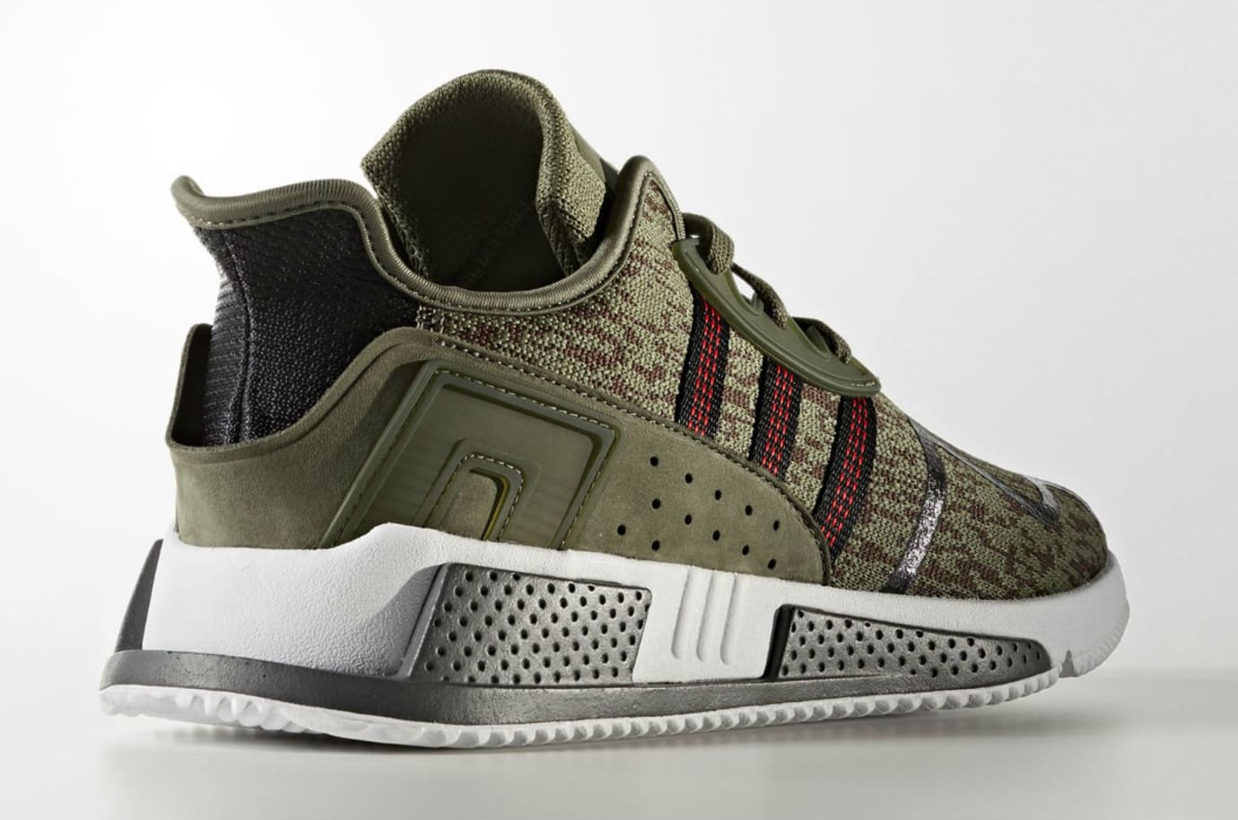Adidas EQT Cushion ADV Olive Camo Release Date AC7722 Lateral