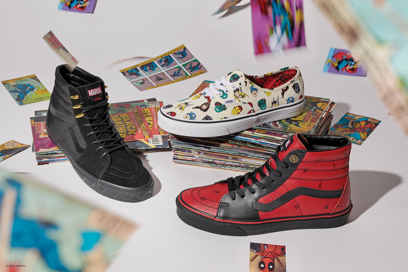 Vans x Marvel Collection 4