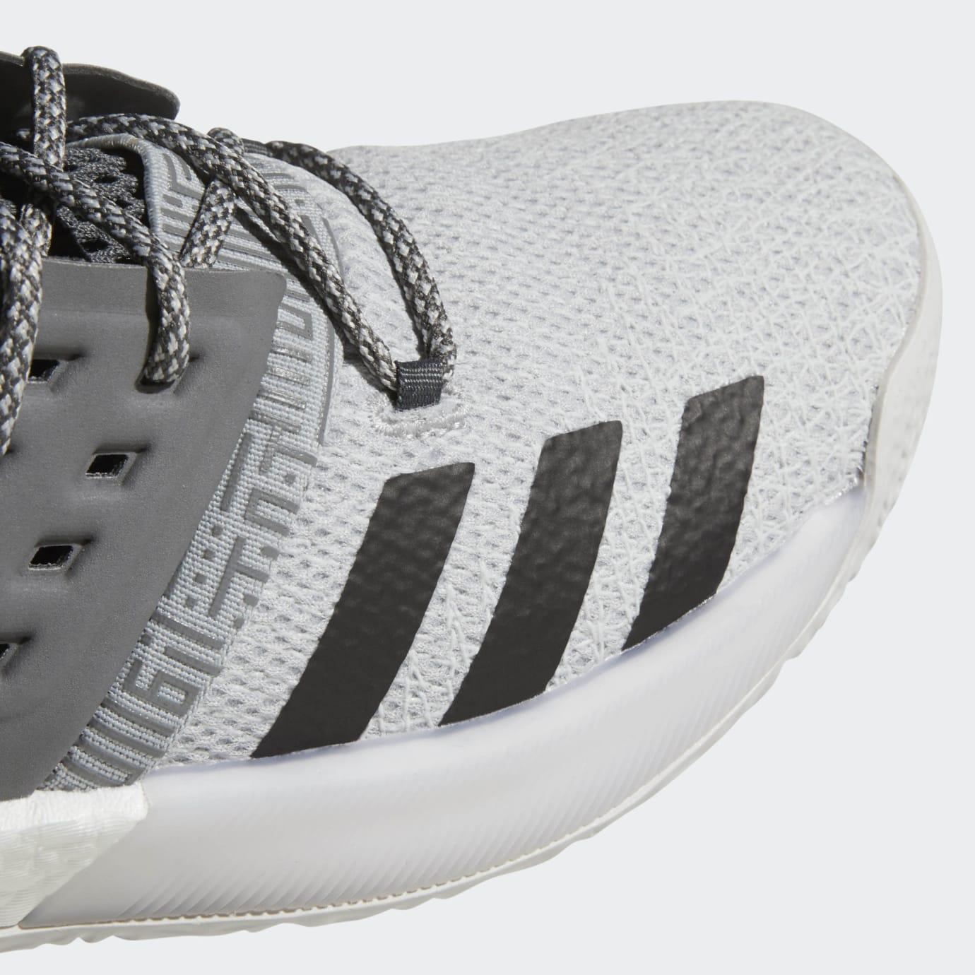 2d07029c49d4 Adidas Harden Vol. 2 Concrete Grey Release Date AH2122 Toe