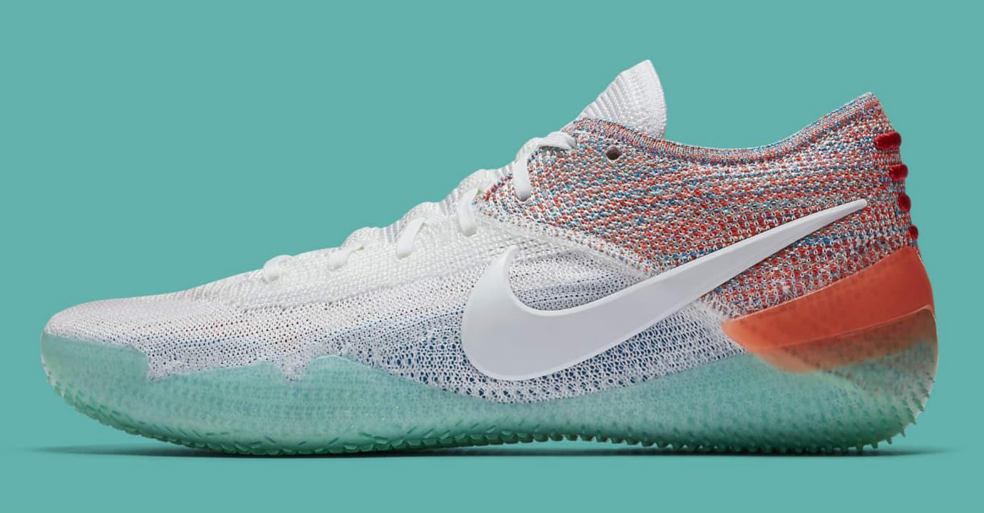 best service f6424 f5298 Nike Kobe A.D. NXT 360 White Multicolor Release Date AQ1087-102 Profile