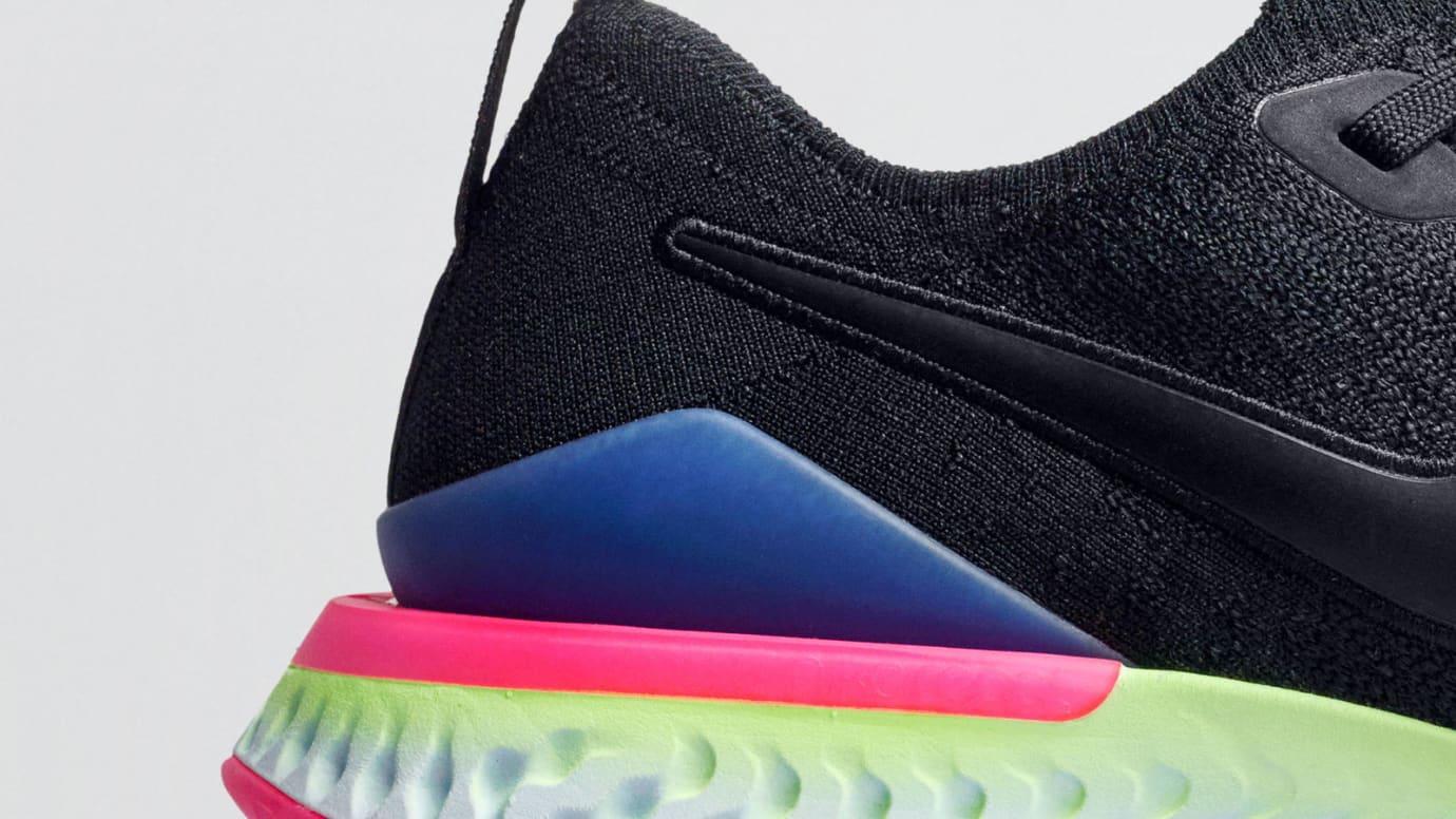 Nike Epic React Flyknit 2 'Pixel' (Heel)