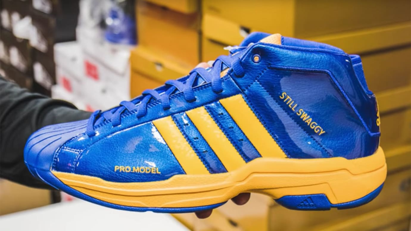 Nick Young Adidas Pro Model Still Swaggy PE