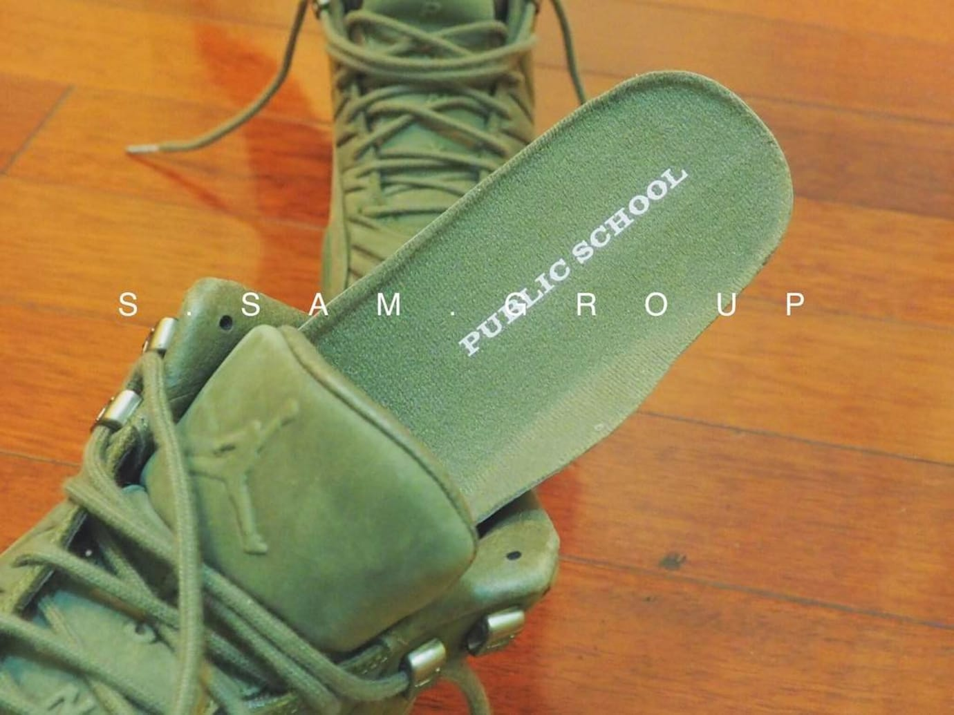 PSNY x Air Jordan 12 Olive Release Date (8)
