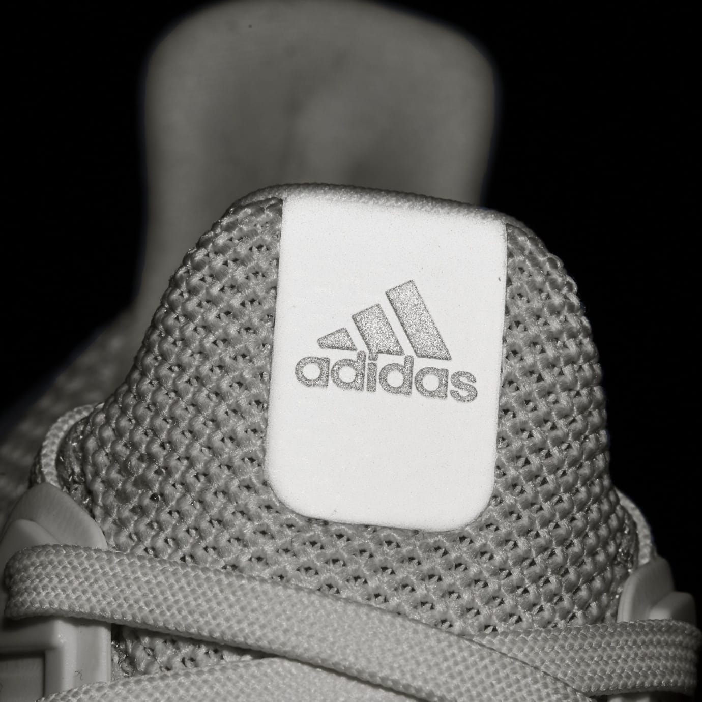 7f95254fc1de7 Image via Adidas Adidas Ultra Boost 2.0 White Reflective 2018 Release Date  BB3928 Tongue Reflective