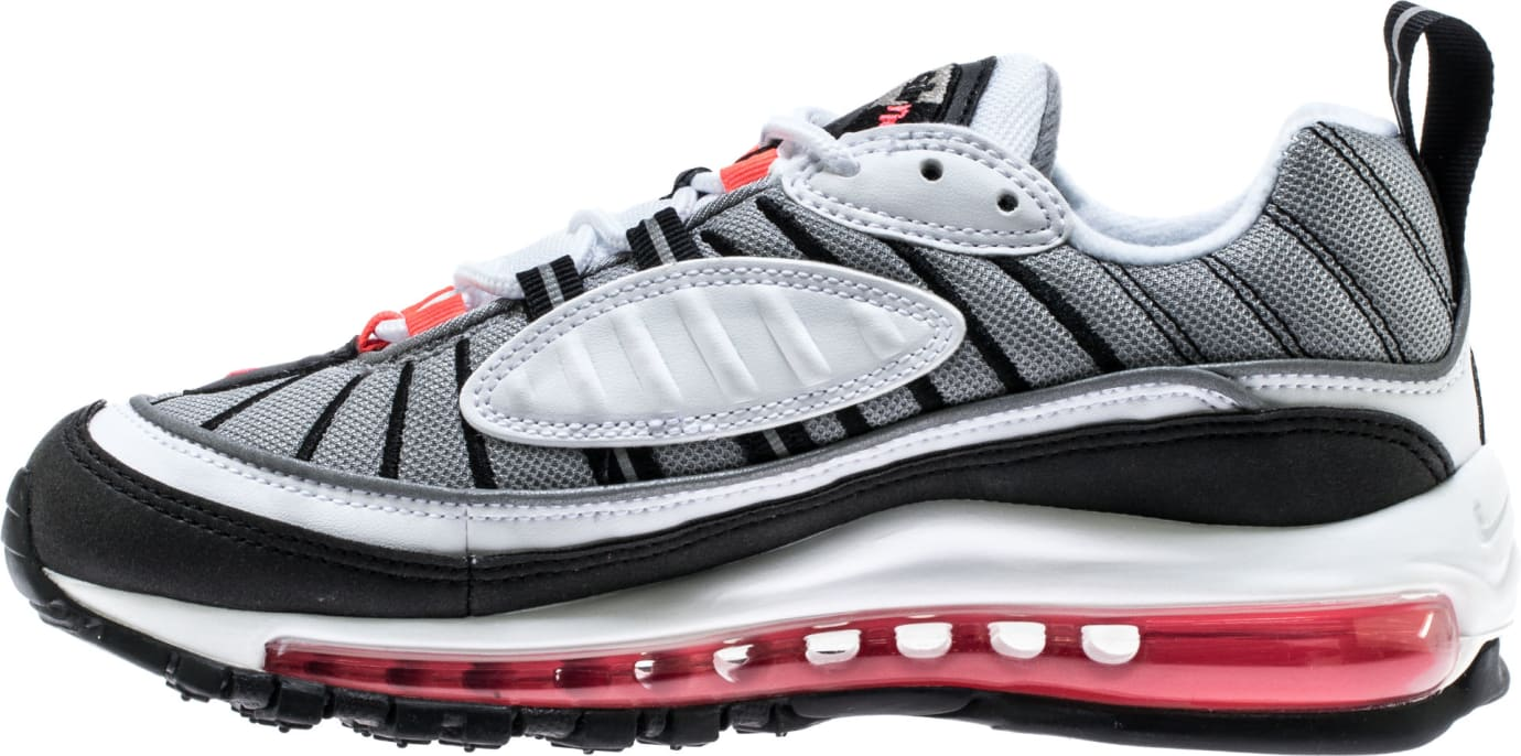 Nike WMNS Air Max 98 Solar Red Release Date AH6799-104 Medial