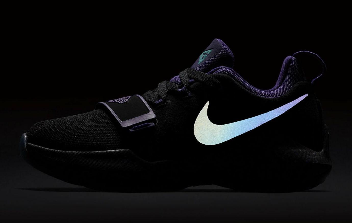 Nike PG1 Gradeschool Grape Release Date 3M 880304-097
