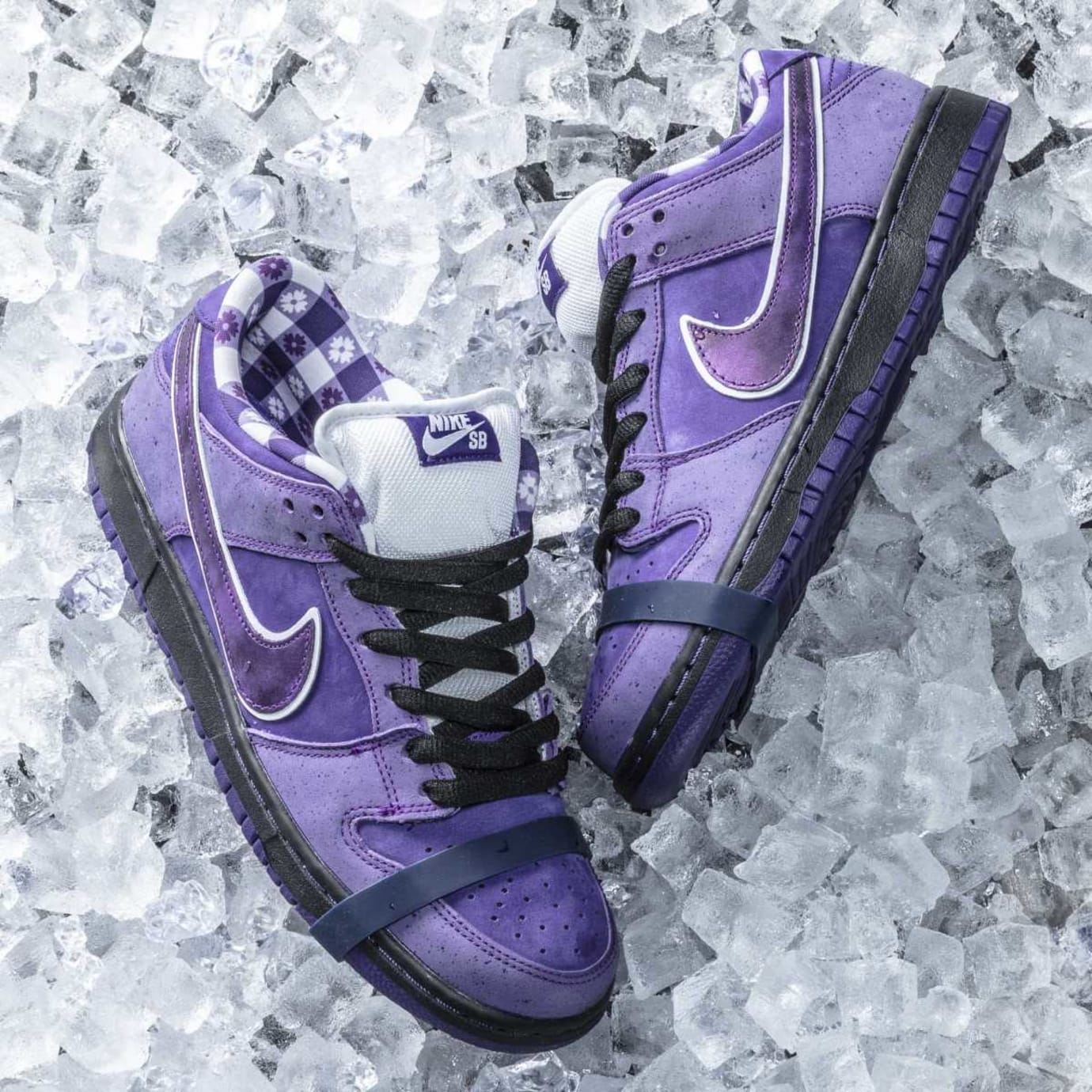 5c6967145e68 Image via CNCPTS Concepts x Nike SB Dunk Low Purple Lobster Release Date  Detail