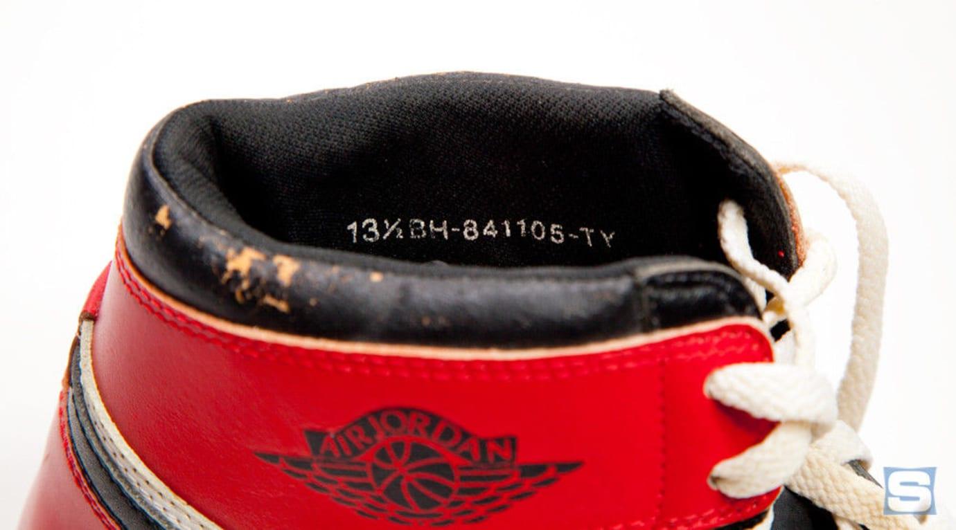 Air Jordan 1 1984 Prototype Serial Number