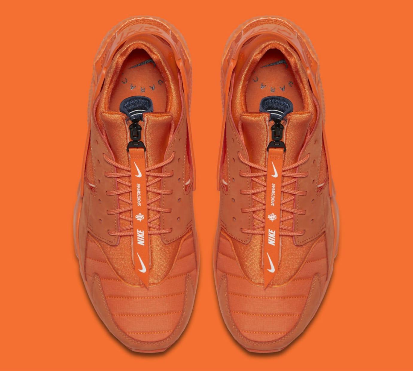 Nike Air Huarache Run Chicago Orange Release Date AJ5578-800 Top