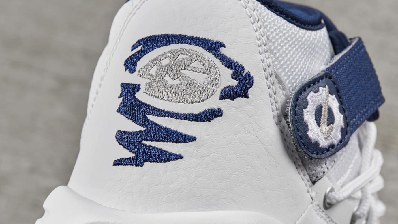 Nike Air Shake Ndestrukt White Navy Heel Release Date