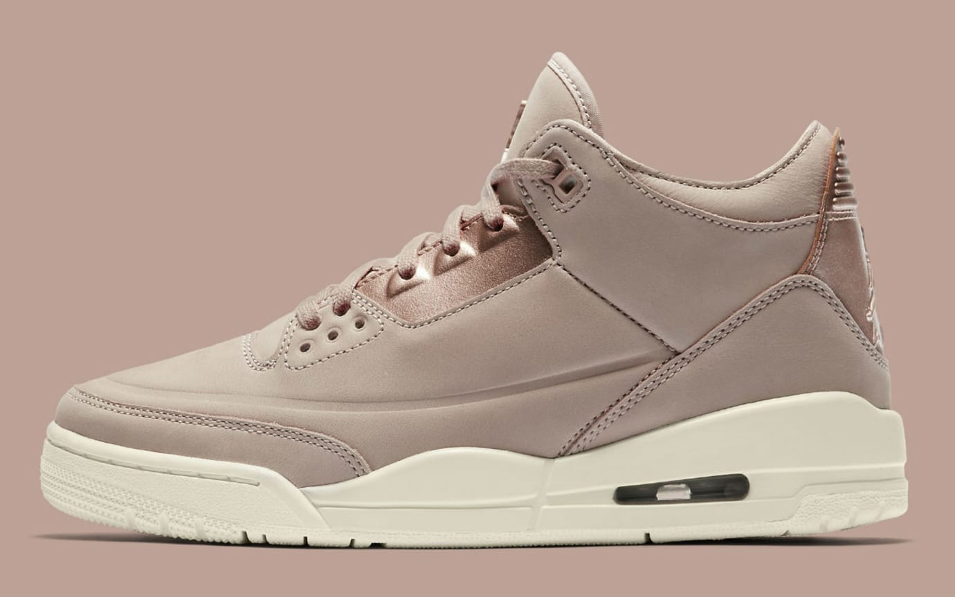 ... best sneakers 38a6c e76f2 Air Jordan 3 III Particle Beige Release Date  AH7859-205 Profile ... 42f677cd1