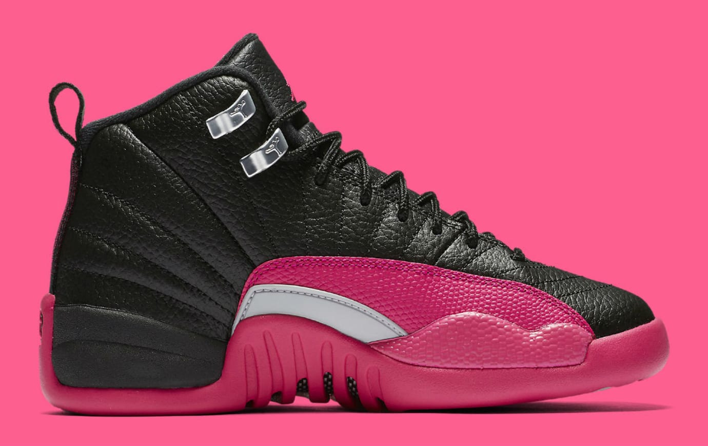 Air Jordan 12 Deadly Pink Release Date Medial 510815-026