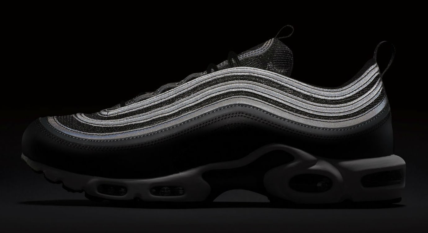 Nike Air Max Plus 97 Black White Release Date 3M AH8143-001