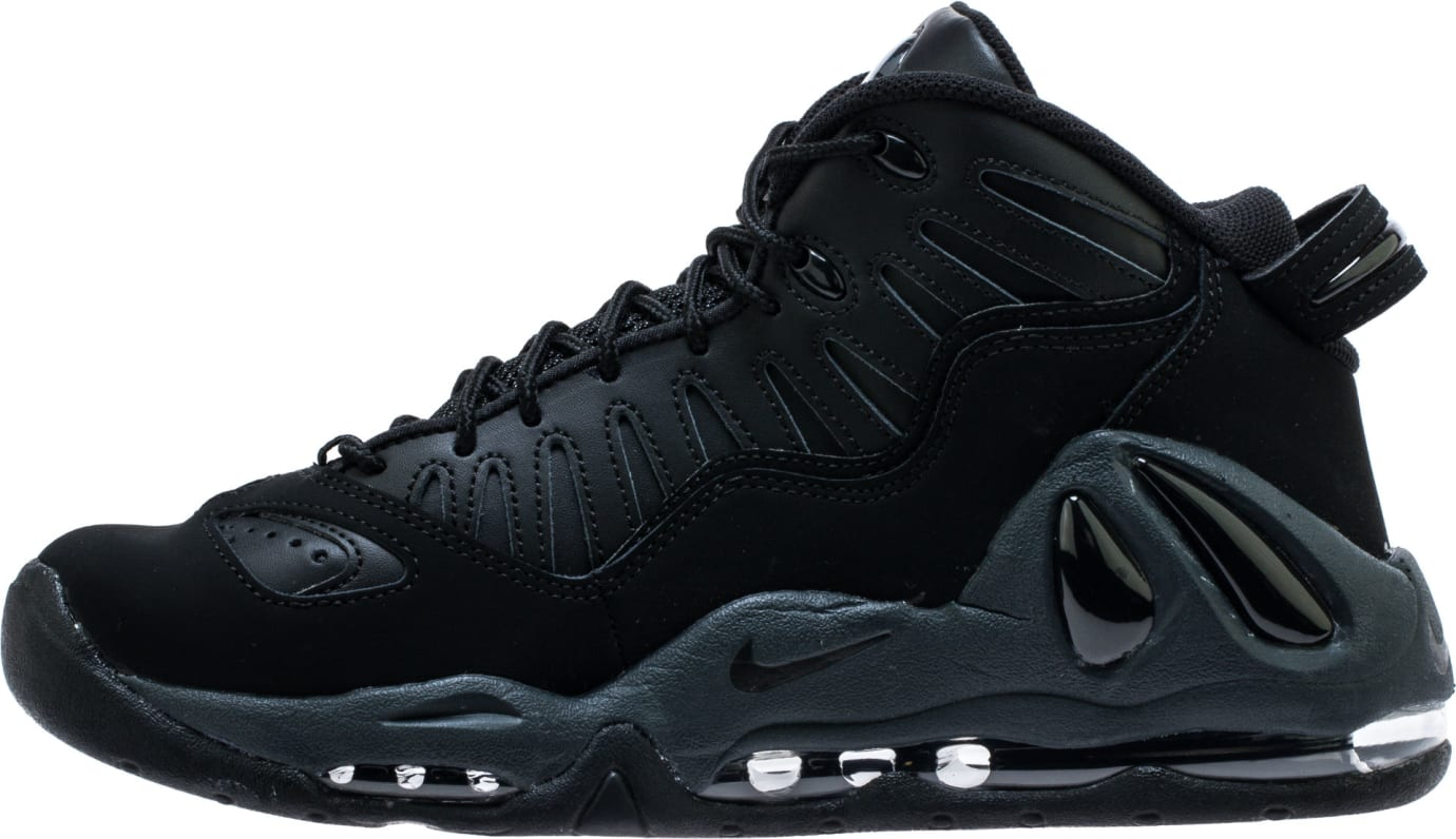 Nike Air Max Uptempo 97 'Triple Black' 399207-005 Medial