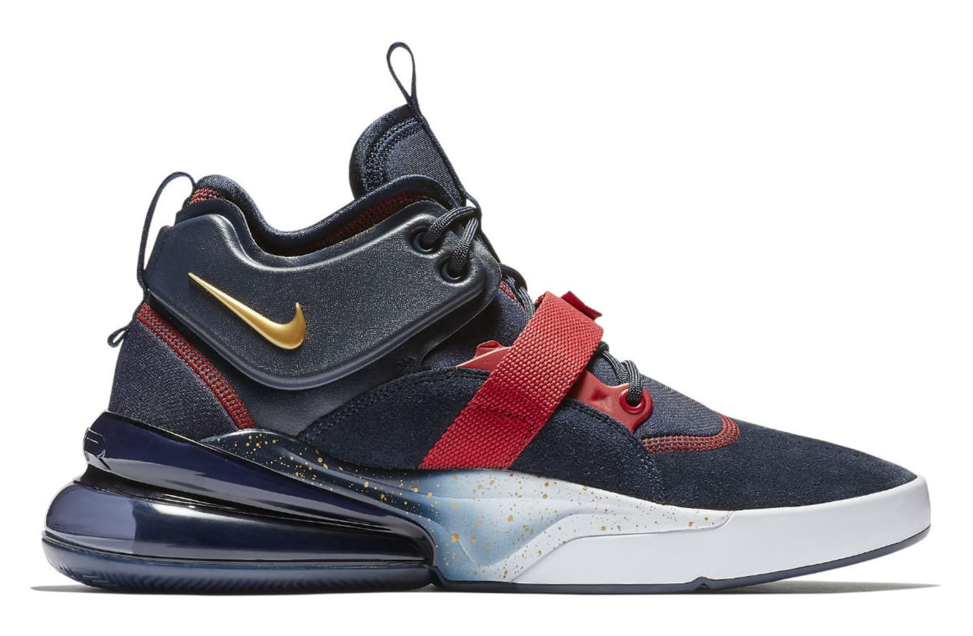 Nike Air Force 270 USA Release Date AH6772-400 Medial