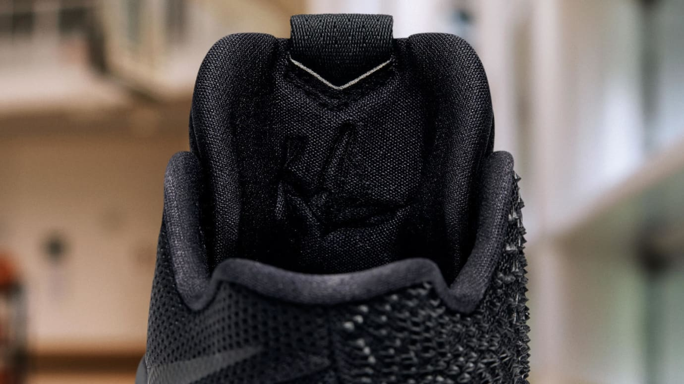 d5c0c6028397 Nike Kyrie 3 Black Marble Release Date Tongue 852395-005