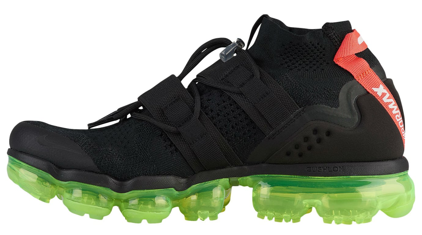 check out 34ddd b7d40 Nike Air VaporMax Flyknit Utility Yeezy Black Volt Crimson ...