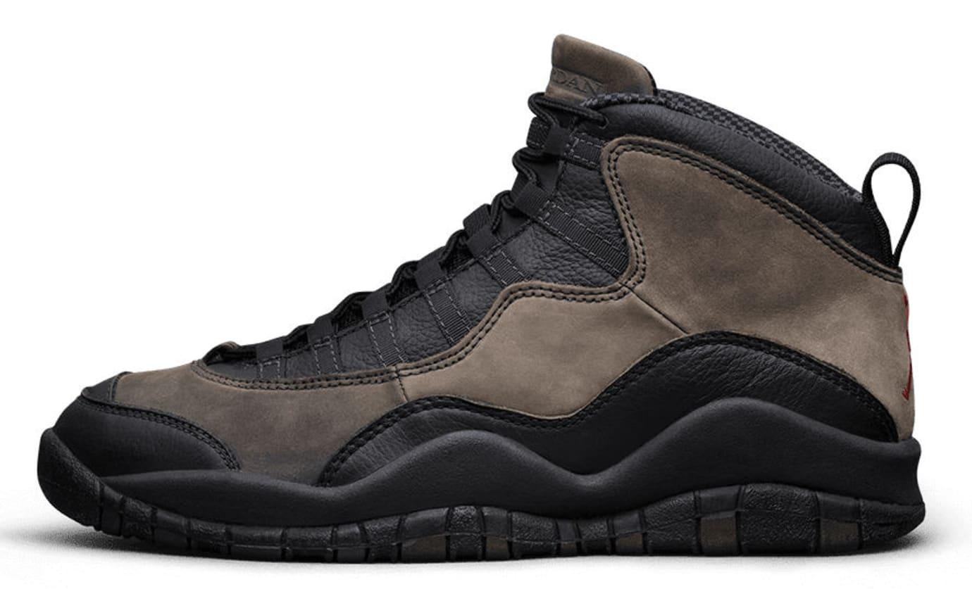 8e6c098294abf3 Air Jordan 10 OG Shadow Toe Cap Sample
