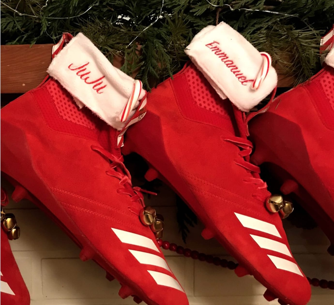 Adidas Football Christmas Stocking Cleats (2)