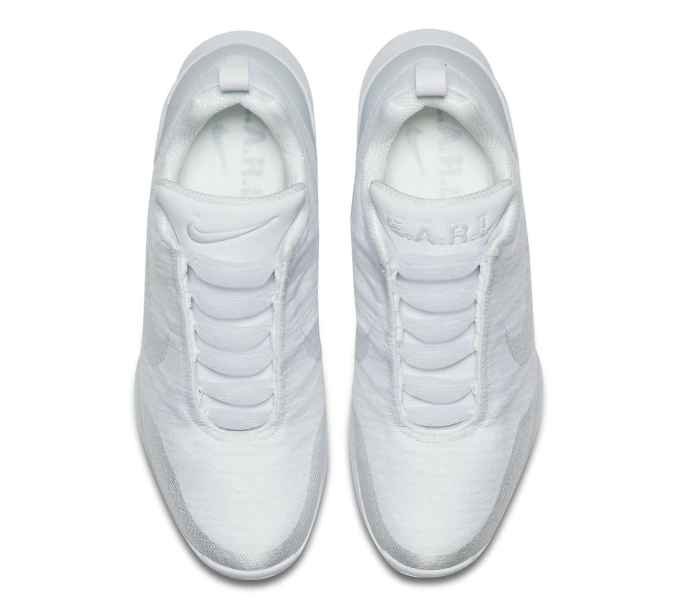Nike HyperAdapt 1.0 Triple White Release Date AH9389-102 Top