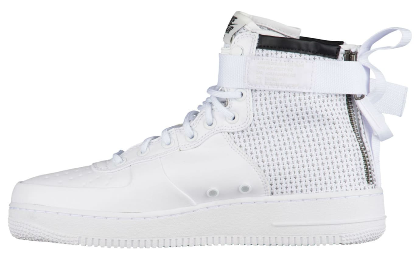 Nike SF Air Force 1 Mid Winter IBEX White Release Date Medial AA1129-100