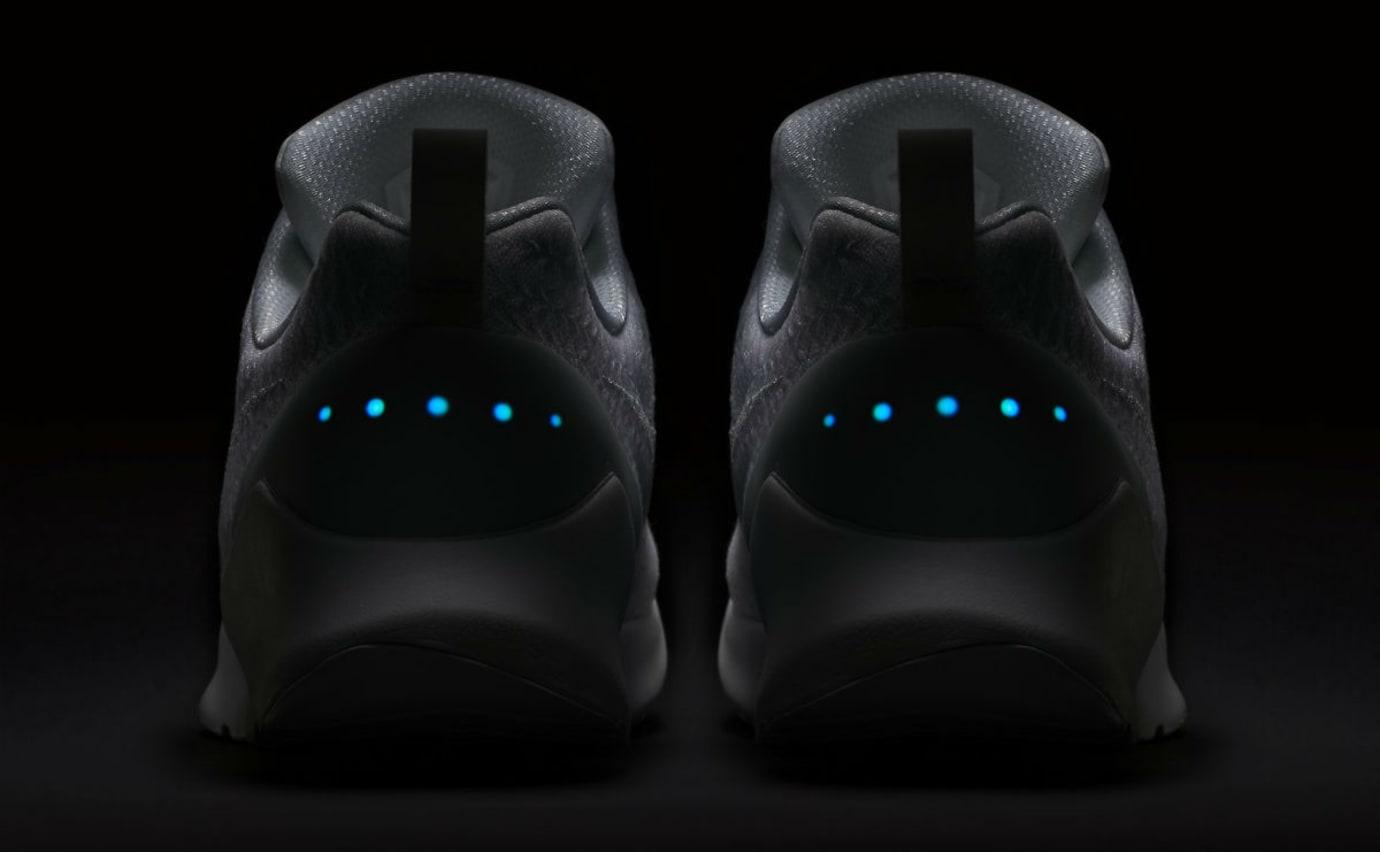 Nike HyperAdapt 1.0 Triple White Release Date AH9389-102 Dark Heel