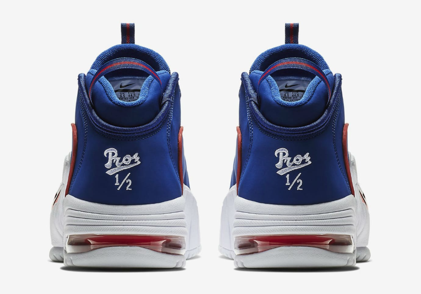 Nike Air Max Penny 1 Lil' Penny Release Date 685153-400 Heel