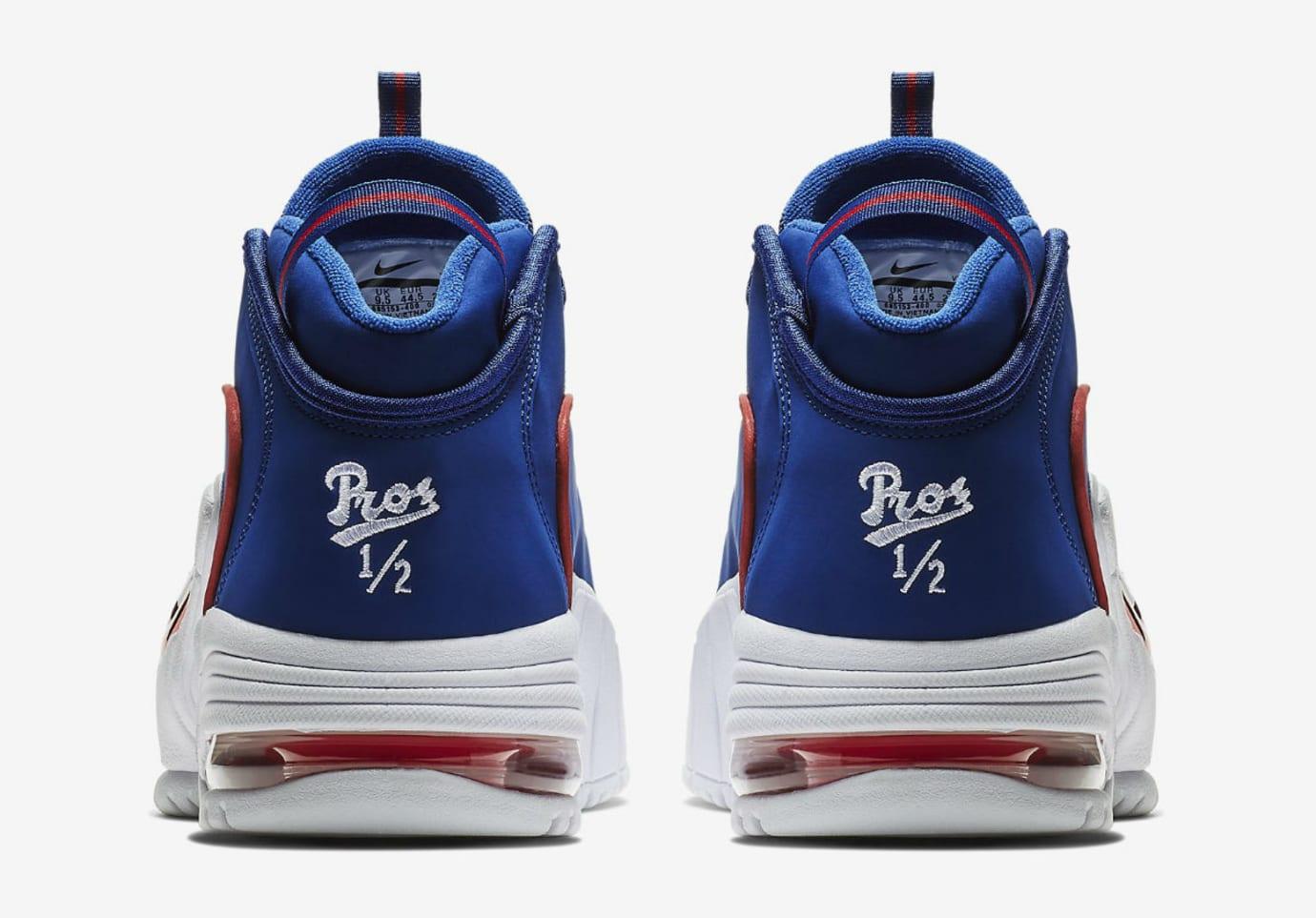 hot sale online aae39 de909 Nike Air Max Penny 1 Lil Penny Release Date 685153-400 Heel