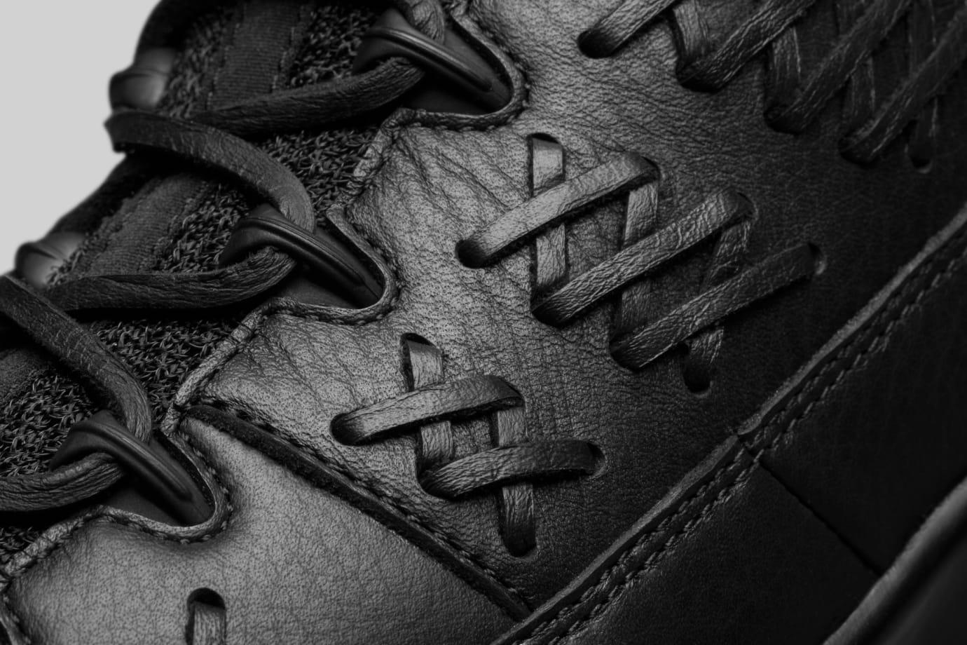 Baseball Air Jordan 9 Black Leather