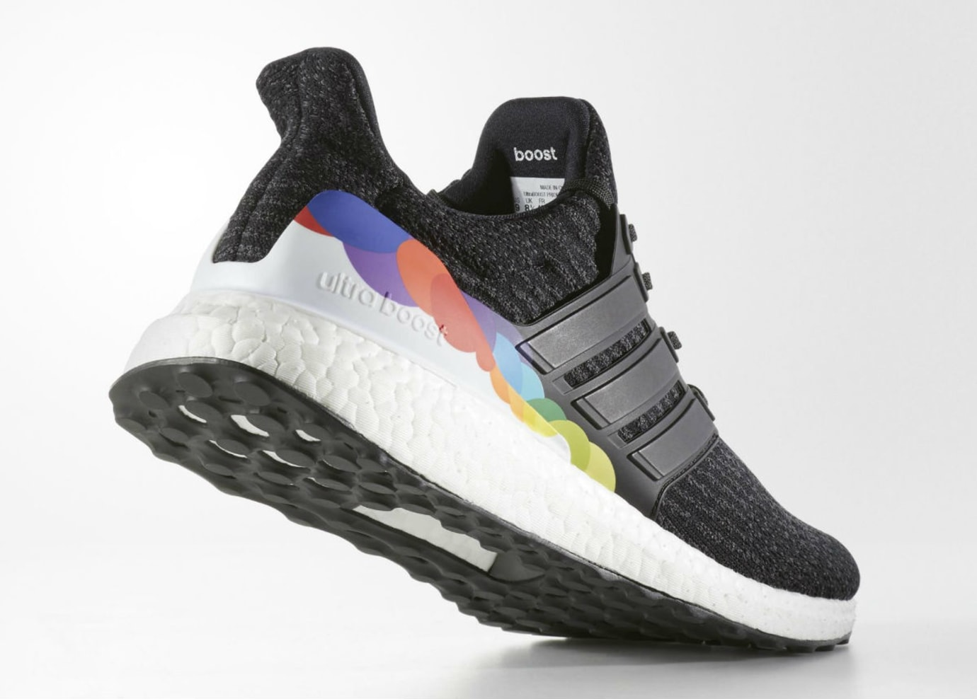 buy online a0bdd 46e26 Adidas Ultra Boost Pride Release Date Lateral CP9632