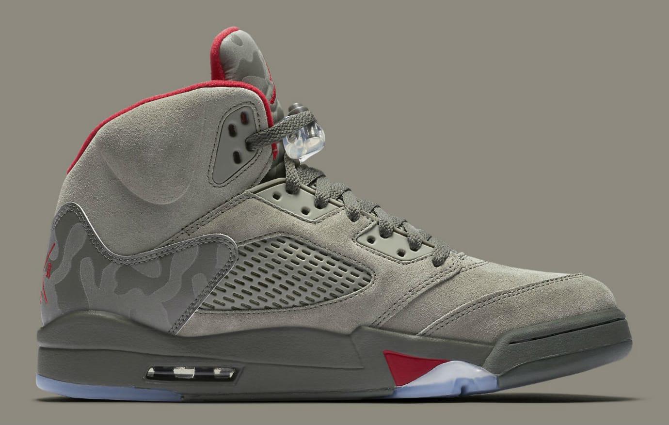 Air Jordan 5 Camo Release Date Medial 136027-051