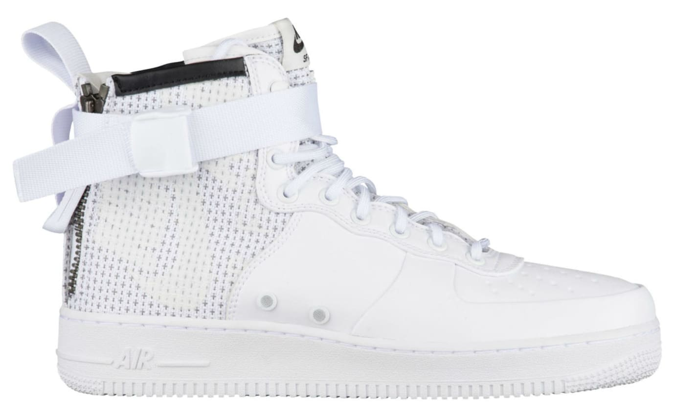 Nike SF Air Force 1 Mid Winter IBEX White Release Date Profile AA1129-100