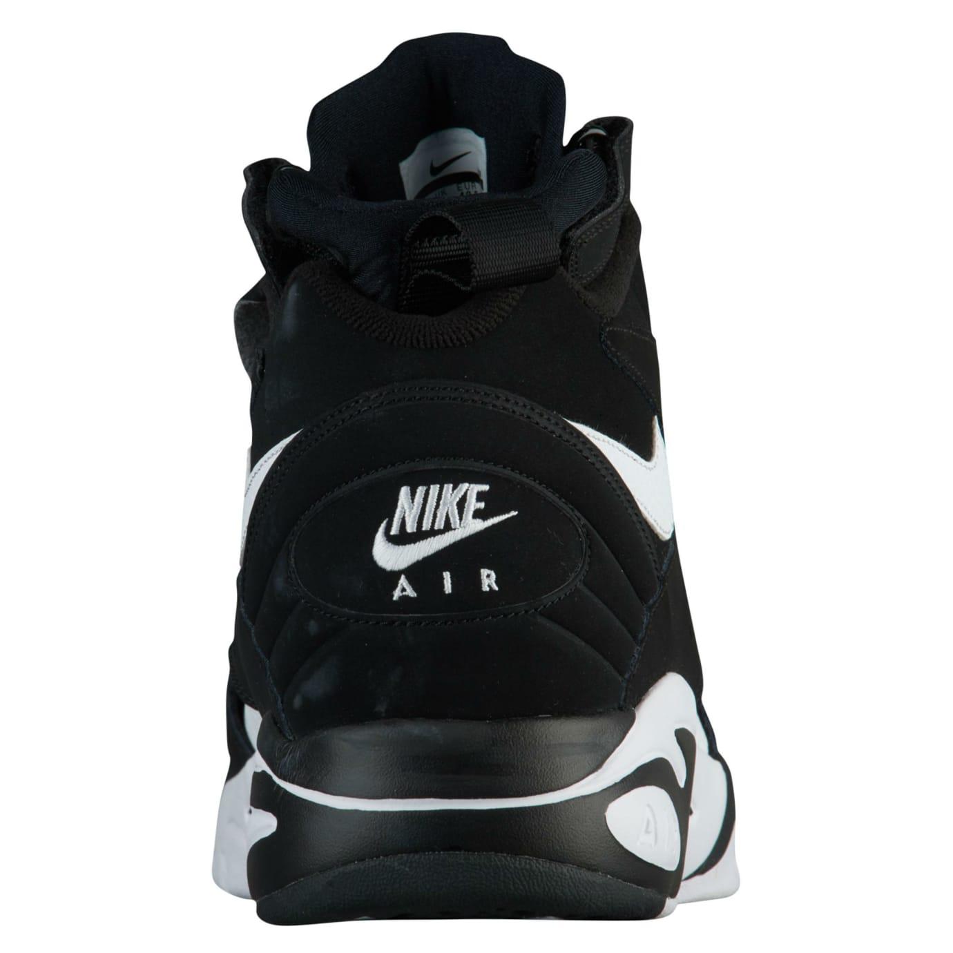 Nike Air Maestro 2 LTD Black/White Release Date AH8511-001 Heel