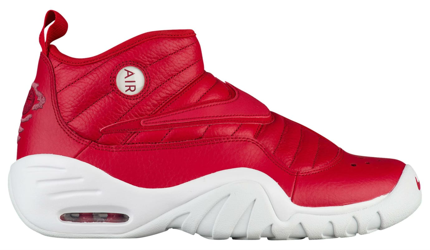 Nike Air Shake Ndestrukt Red LeatherRelease Date Profile 880869-600