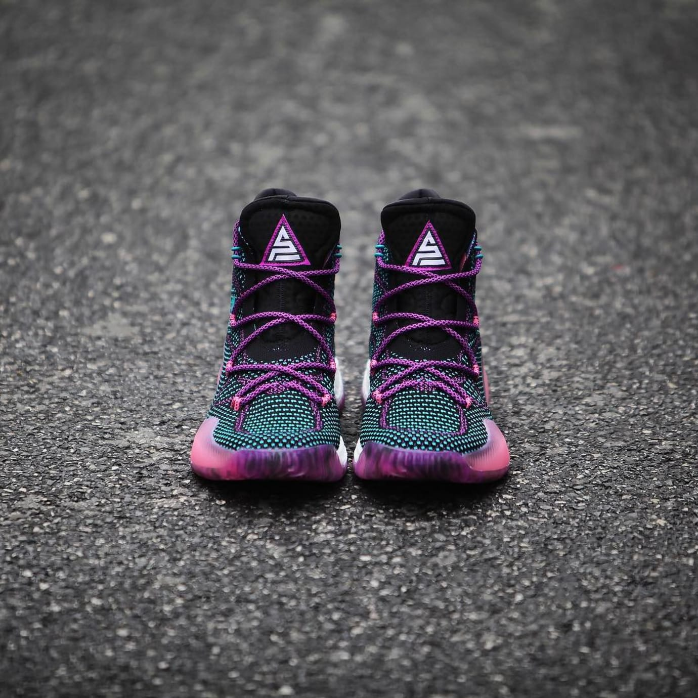 brand new ec9f9 652c8 ... Swaggy P Adidas Crazy Explosive Black Pink PE (6)