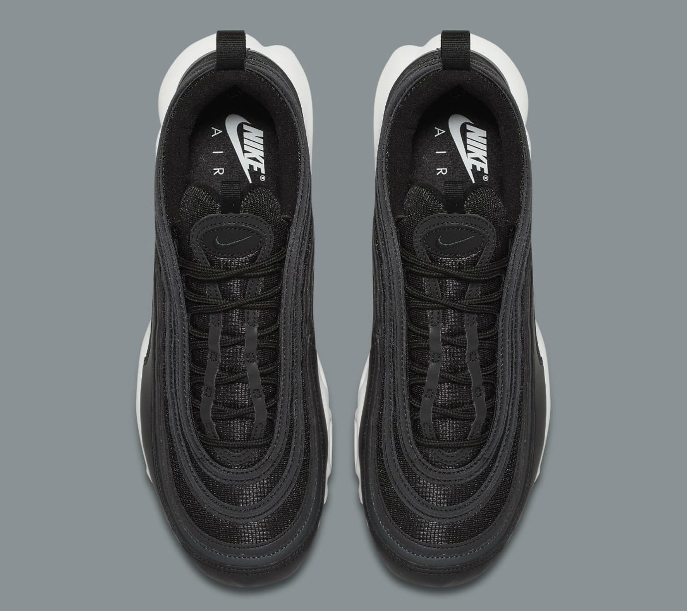 Nike Air Max Plus 97 Black White Release Date Top AH8143-001