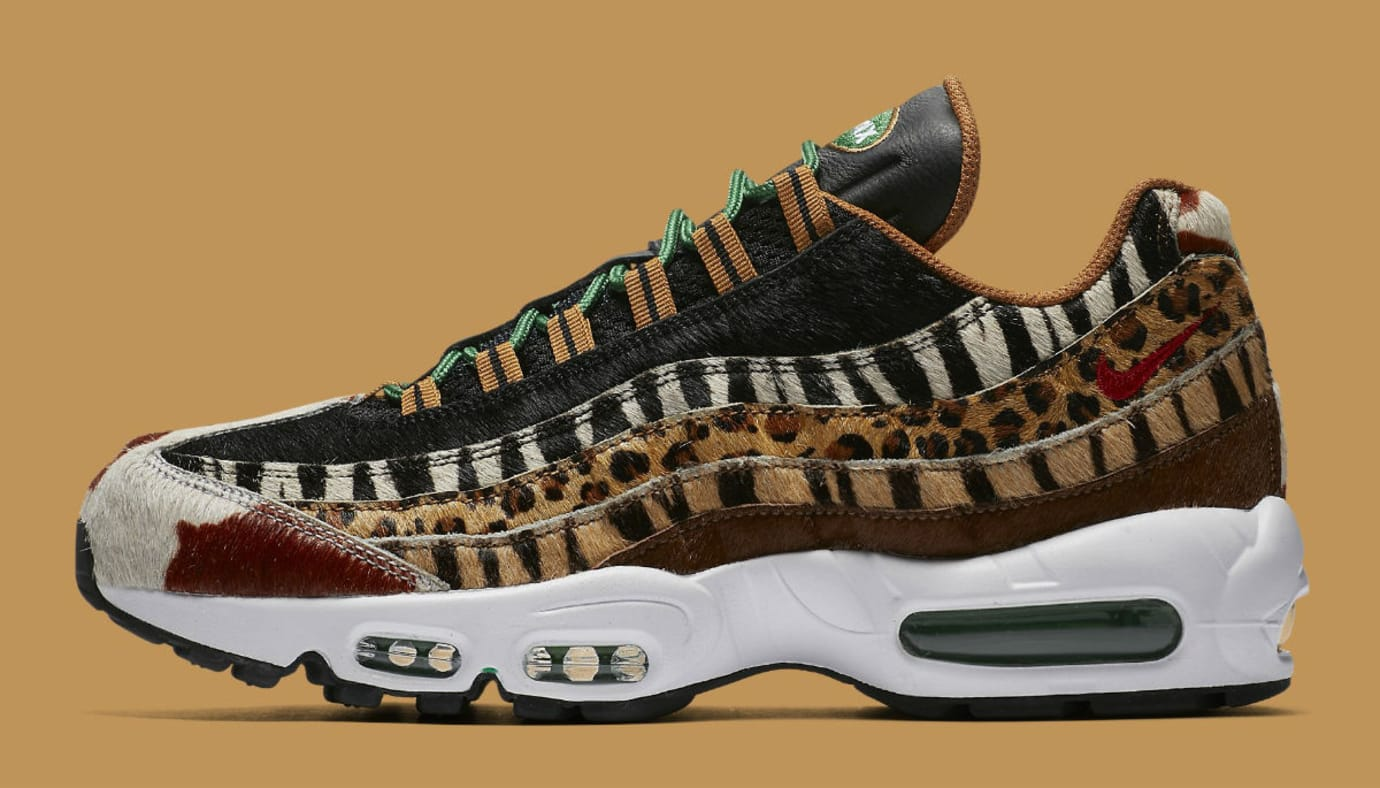 Atmos x Nike Air Max 95 Animal Pack Release Date AQ0929-200 Profile
