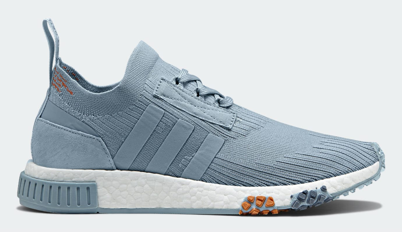 Adidas NMD Racer Primeknit Ash Grey Release Date CQ2032 Profile