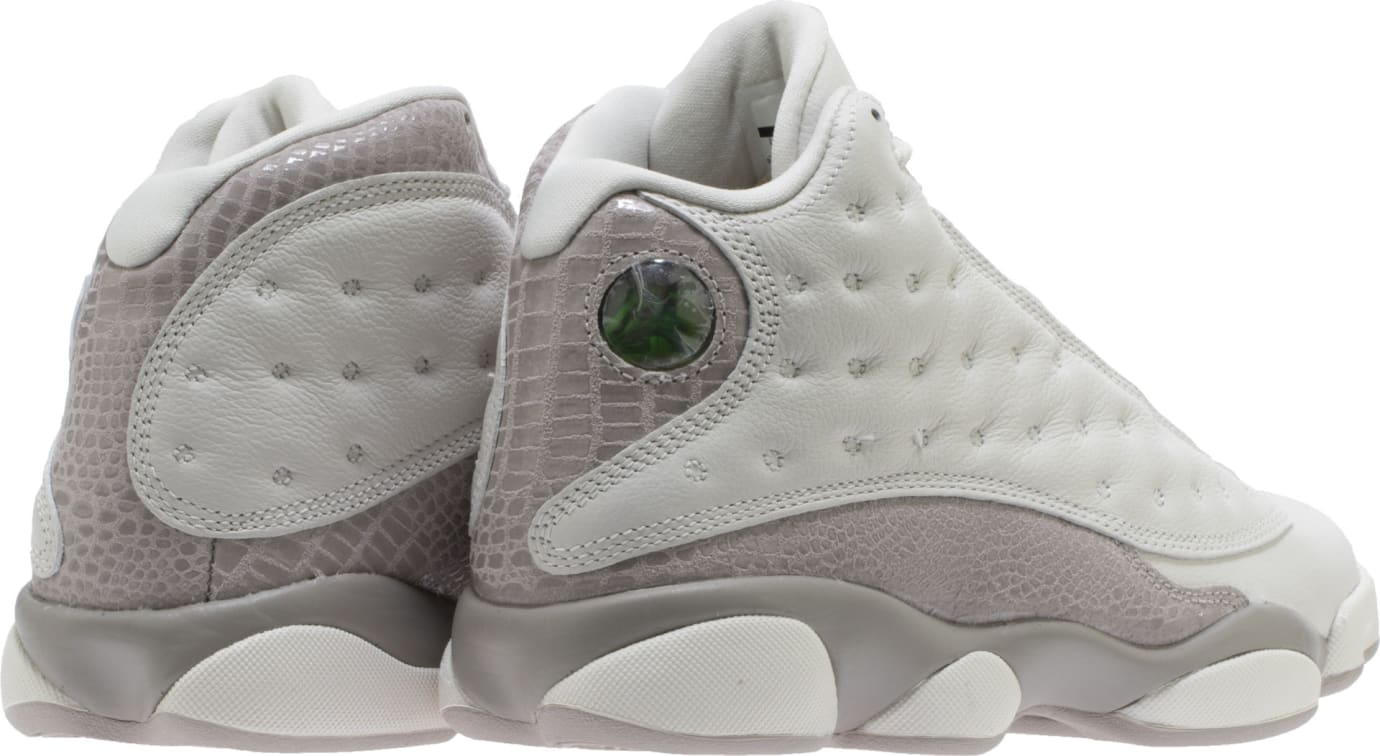 c8a1589bba56 Image via Shoe Palace Air Jordan 13 Women s  Phantom Moon Particle  Croc  AQ1757-004 (Heel