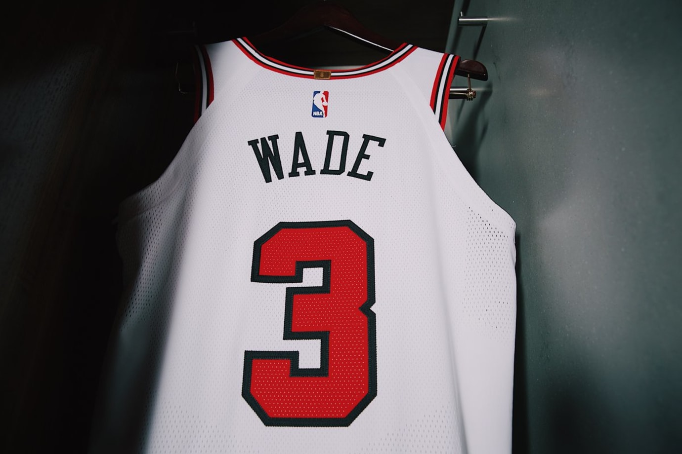 Chicago Bulls Nike Jersey Away Back