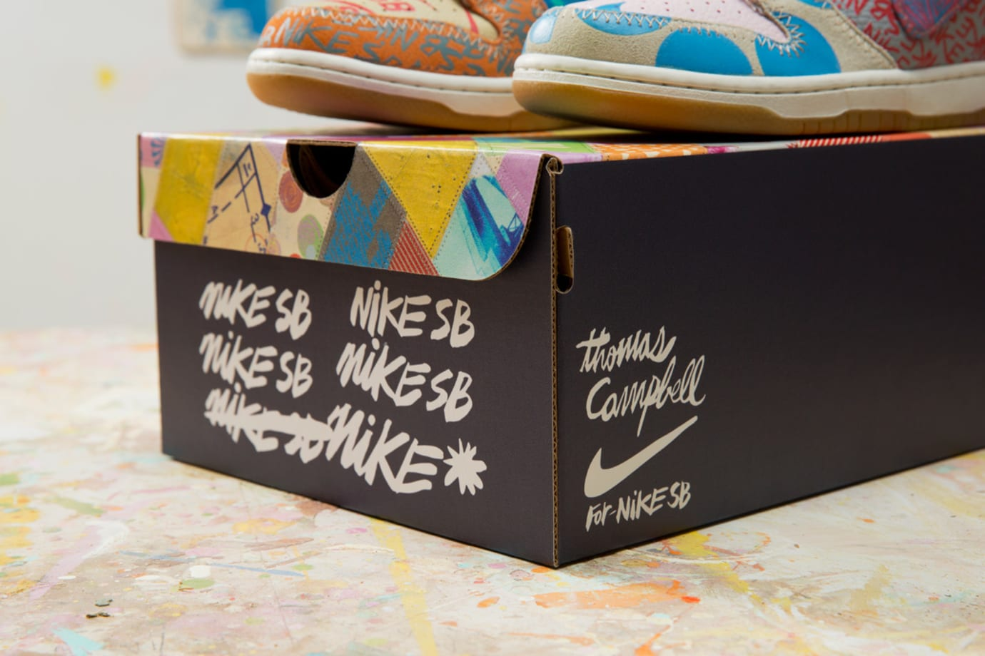 Thomas Campbell x Nike SB Dunk High Custom Packaging Limited (2)