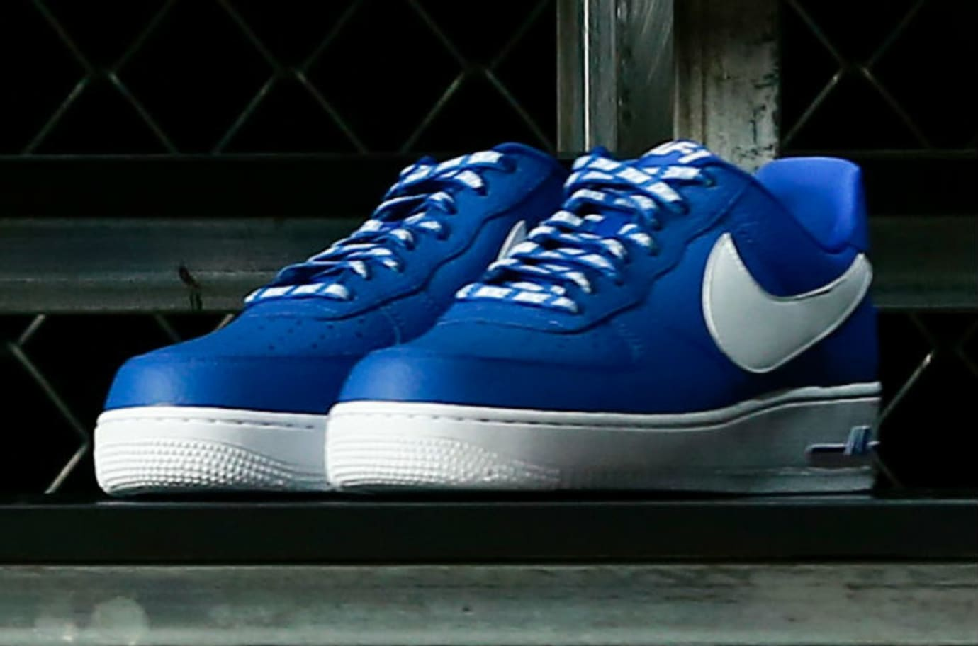 Nike Air Force 1 Low Statement Game NBA Logos Royal