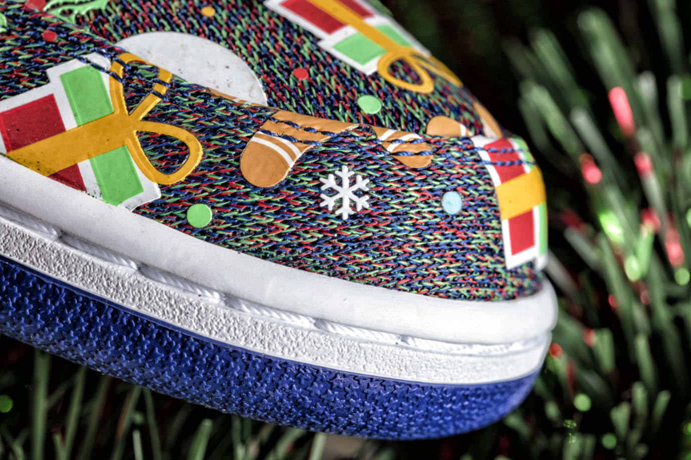 Nike SB Ugly Christmas Sweater Dunks 2017 Concepts 5