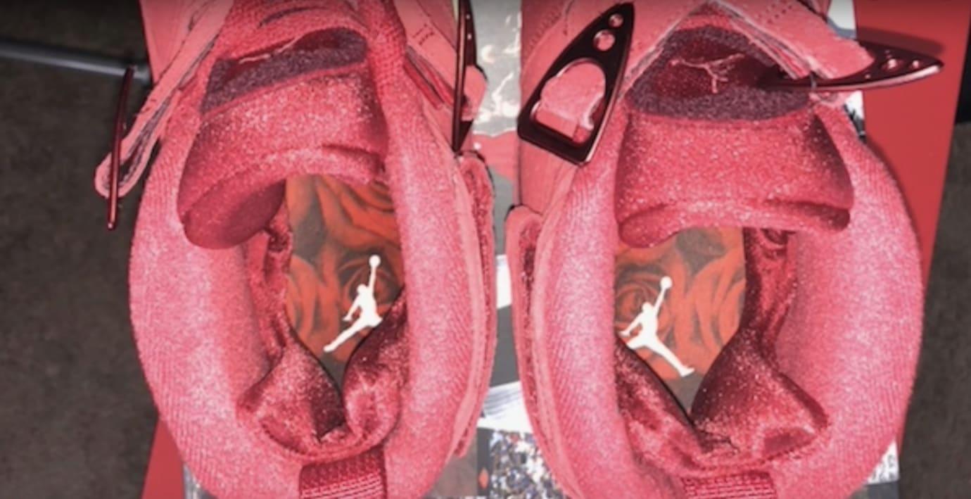 WMNS Air Jordan 8 'Valentine's Day' AQ2449-614 (Insole)