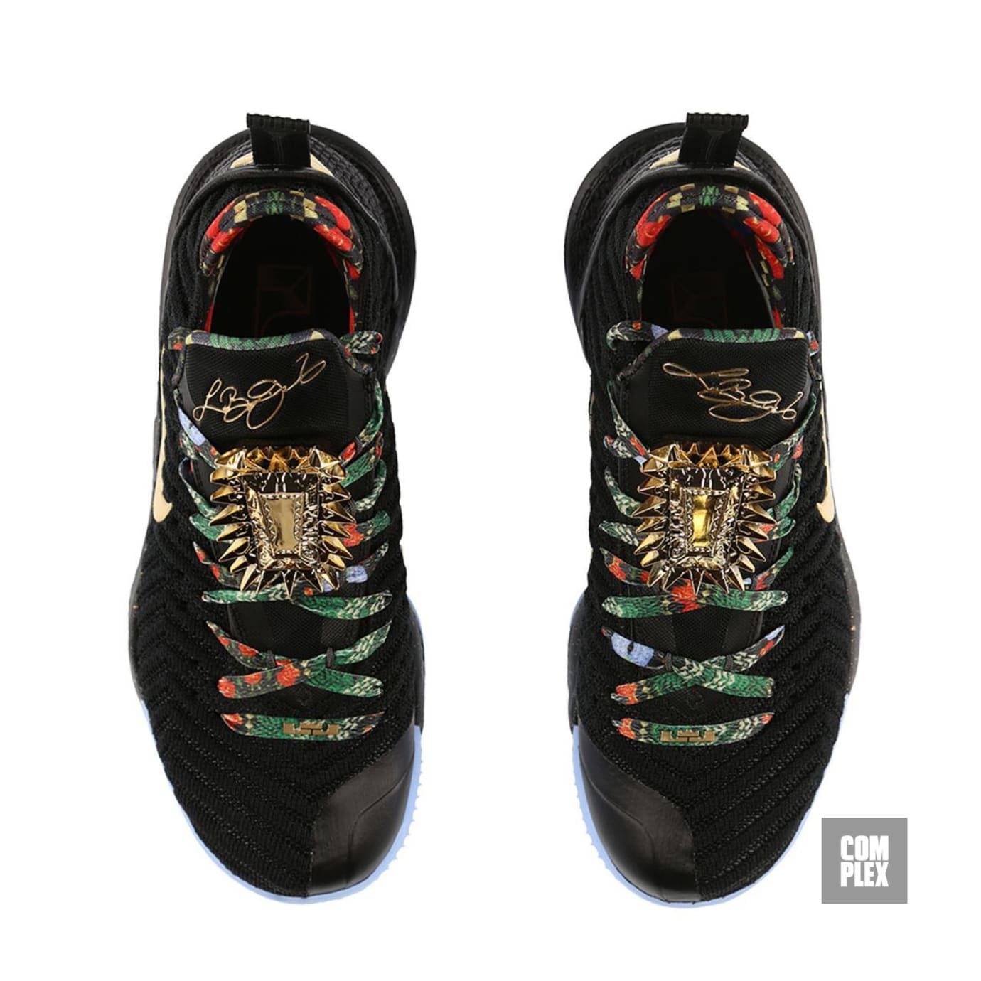 half off 07098 7416f Nike LeBron 16  Watch the Throne  (Top)