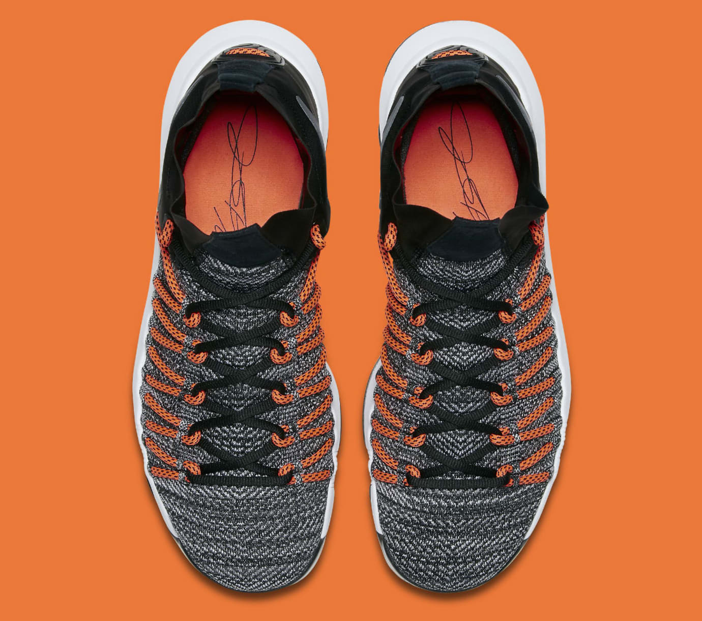 the latest 892ab 50cee Nike KD 9 Elite Hyper Orange Release Date Top 878637-010
