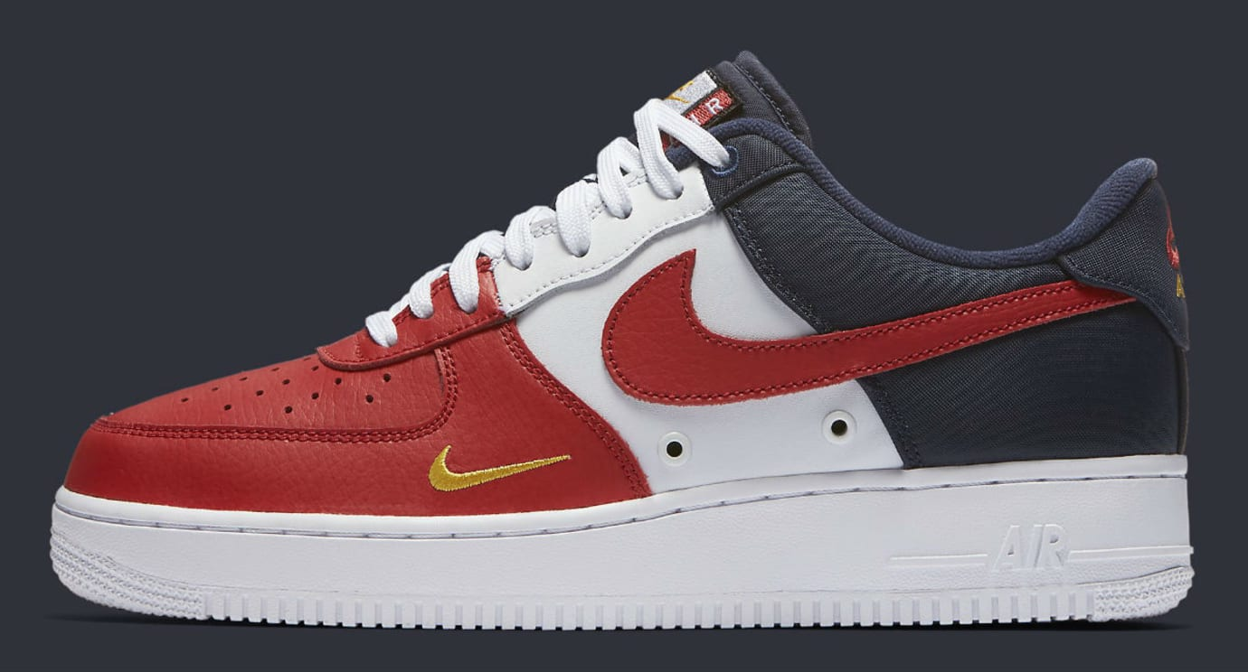 nike air force 1 low mini swoosh usa release date 823511. Black Bedroom Furniture Sets. Home Design Ideas
