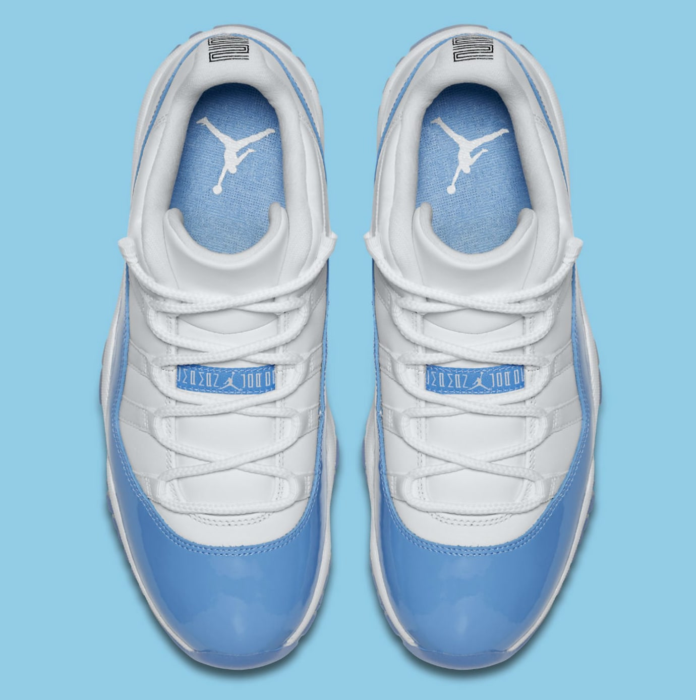 new concept 76092 4dd30 Air Jordan 11 Low UNC University Blue Release Date Top 528895-106
